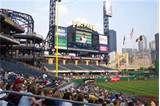 PNC Park  pinterest.com/... #hamptoninnmonroeville  www.facebook.com/... #pittsburghhotel Pittsburgh Hotels, Pittsburgh Pirates, Pnc Park, Park Homes, Vacation Travel, Get Directions, Traveling, Skyline, River