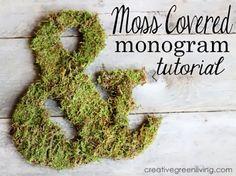 Moss Typography Art!