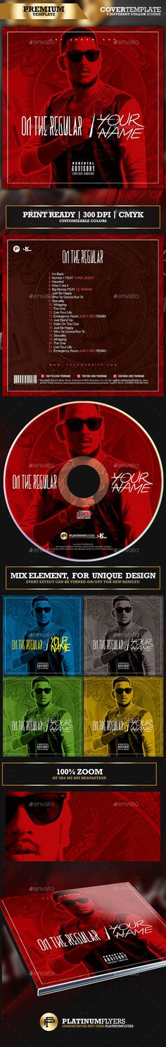 Trance Z Cd Cover Template  Cd Cover Cd Cover Template And