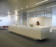 Reception desk by Designoffice | Entrance: Reception desks | Reception / Entrance area