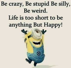 Find very good Jokes, Memes and Quotes on our site. Funny Pictures, Videos, Jokes & new flash games every day. Funny Minion Memes, Best Funny Jokes, Crazy Funny Memes, Minions Quotes, Funny Texts, The Funny, Funny Humor, Minion Sayings, Minion Humor
