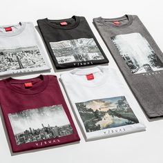 Joined by pro photographers @jasonmpeterson, @13thwitness, @evidence + @travisjensen, @vanstyles' new #Visual City Series highlights four iconic American cityscapes including New York, Chicago, San Francisco and Los Angeles. Rep your city and cop the new men's tee collection available now exclusively at #pacsun.