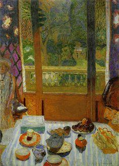 ピエール・ボナール-朝食の部屋(庭に面した食堂)-