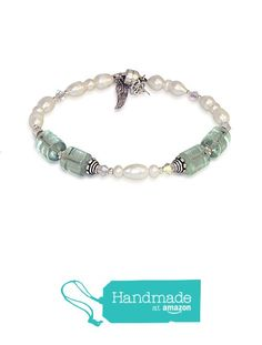 Archangel Chamuel - Angel of Peaceful Relationships - Fluorite and Freshwater Pearl Bracelet - Perfect Mother's Day Gift from The Enchanted Seed http://www.amazon.com/dp/B019VNVKEG/ref=hnd_sw_r_pi_dp_Mw..wb09KMZ38 #handmadeatamazon
