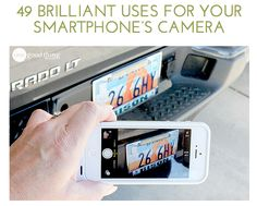 Ways to use your camera phone