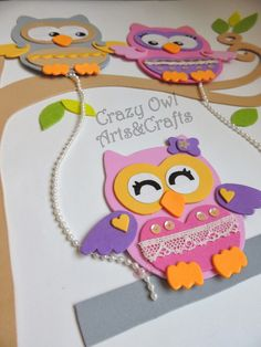 CRAZY OWL - Melinha Arts&Crafts: Março 2014