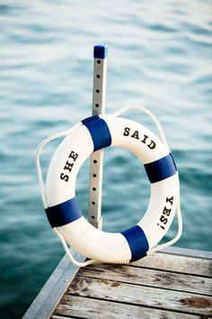 brides of adelaide magazine - nautical wedding - buoy