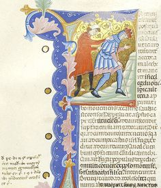 Bible, MS M.436 fol. 102v - Images from Medieval and Renaissance Manuscripts - The Morgan Library & Museum