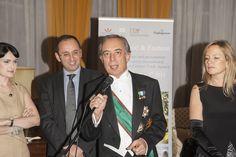S.E. Pasquale Terracciano, ambasciatore italiano a Londra durante l'evento Liguria Food & Fashion 2013, con l'Assessore regionale al Turismo, Angelo Berlangieri