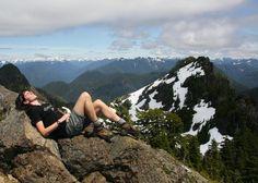 Enjoy fantastic views atop Colonel Bob Peak. Photo by Nutmeg.