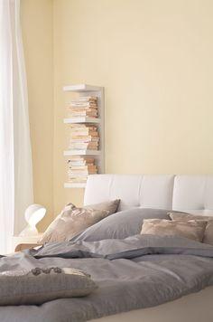 Blasse Beige Nuancen Im Schlafzimmer Wirken Entspannend Und Luftig. Perfekt  Für Eine Minimalistische, Aber Gemütliche Einrichtung.