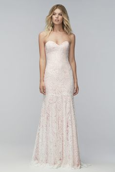 Our Dress of the Week is the gorgeous 'Ryley' gown from the new Wtoo collection. Not only is this dress beautiful, with its unique Ruca lace, strapless sweetheart neckline, fitted silhouette, and dropped waist; it is incredibly light and easy to wear. We're offering 15% off this dress when purchased this week! www.adorebridalga.com