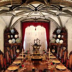 Palácio da Pena. The Royal dining room