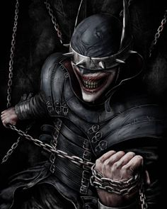 The Batman who laughs, Emmanuel Andrade - The Batman who laughs by Emmanuel AndradeFan art of the DC comic character. Batman Poster, Batman Comic Art, Joker Art, Gotham Batman, Batman Robin, Dc Comics Funny, Dc Comics Art, Gorillaz, Creepy Dude