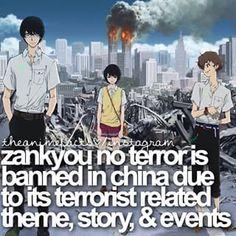 Zankyou no Terror | Facts Great anime though