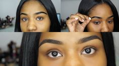 PEEL OFF EYEBROWS? ETUDE HOUSE TINT MY BROWS + BROW ROUTINE!| TALKOFBEAUTY XOXO - YouTube