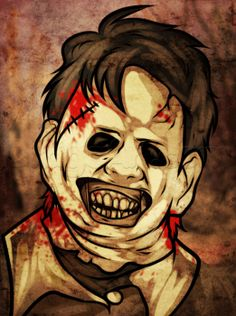 How to Draw Leatherface Easy, Step by Step, Characters, Pop Culture, FREE Online Drawing Tutorial, Added by Dawn, July 20, 2013, 8:52:48 pm