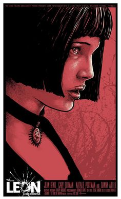 INSIDE THE ROCK POSTER FRAME BLOG: Leon The Professional Godmachine Movie Poster…