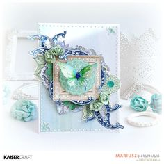 Amazing 'Ubud Dreams' card #1 by Mariusz Gierszewski Design Team member for Kaisercraft Official Blog featuring Ubud Dreams collection. Saved from kaisercraft.com.au/blog ~ Wendy Schultz ~ Cards 1.