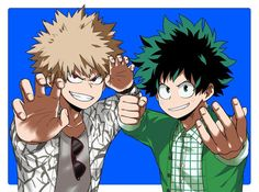 If Kacchan chilled out they could actually act like real friends tho