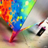 SARAH's FURNITURE and more by Canadian graffiti artist Dudeman