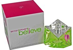 Believe is sensual and feminine by Britney Spears which is the latest to her collection. Youthful and playful fragrance with top notes of golden tangerine and exotic guava, middle notes of honeysuckle and hints of linden blossom and base notes of patchouli wrapped in amber and pink pralines. Recommended for day and evening wear perfume for Women.