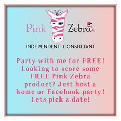 Want to earn some FREE products? Contact me and we will pick a date. Pink Zebra Facebook Party, Pink Zebra Party, Pink Zebra Home, Pink Zebra Sprinkles, What Is Pink Zebra, Pink Zebra Consultant, Everything Pink, Zebras