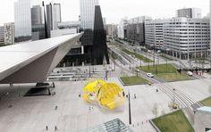Rotterdam krijgt 'ballen' voor het station – Metro