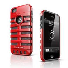 Musubo Retro Series Case Apple iPhone 5 - RedMusub