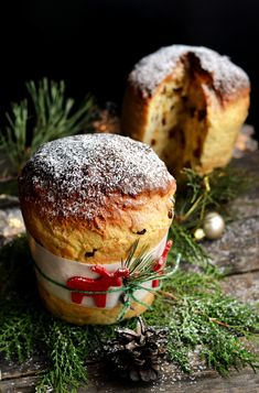 Panettone – Sütigolyó Christmas Dishes, Christmas Desserts, Hungarian Cake, Ring Cake, Christmas Cake Decorations, Cookie Desserts, Sweet Bread, No Bake Cake, Food Photo
