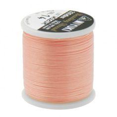 Fil nylon Miyuki 0,25mm rose clair (x50m)  Référence 8413-14 Bobine de 50 mètres de fil nylon monofilament, de la marque Miyuki, couleur rose clair (code couleur 14) épaisseur 0,25mm (size B) Très résistant, ce fil Miyuki de qualité convient parfaitement pour tisser des perles