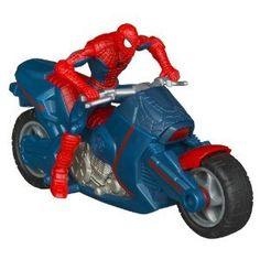 Black Friday Spider-Man Marvel Ultimate Zoom 'N Go Spider Cycle from Spider-Man Cyber Monday