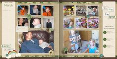 Family Yearbook: Month by Month   designed by: Michelle Bell   12 x 12 Storybook  Template ID: 78994