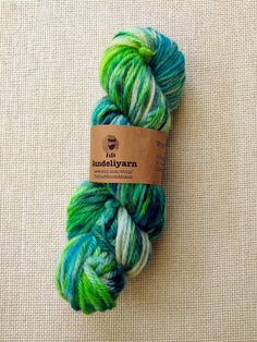 Hand dyed aran weight yarn - in shades of green and teal - wool - skein Best Ballpoint Pen, Lace Knitting, Knitting Patterns, Aran Weight Yarn, Sock Yarn, Hand Dyed Yarn, Shades Of Green, Teal, Stitch