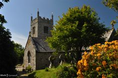 Colan church, Cornwall