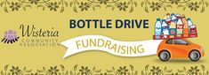 Help Support the Wisteria Community Association of Nanaimo! Drop Your Bottles & Cans @ Regional Recycling Nanaimo - Old Victoria Bottle Depot & Return-It! Fundraisers, Vancouver Island, Wisteria, Regional, Bottles, Recycling, Community, Drop, Canning