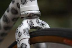 Sweet bicycle paint job.