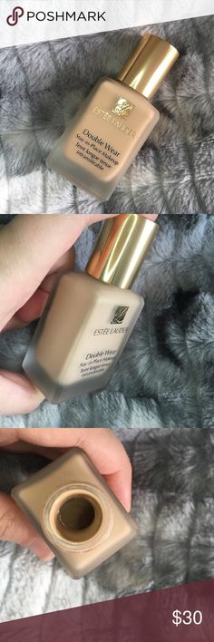 Estee Lauder Double Wear Foundation Only used once! Estee Lauder Double Wear Foundation in the shade 1N2 Ecru. In perfect condition.  Was too light & did not work for my skin type. Sephora Makeup Foundation