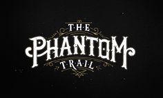 the phantom gold lettering