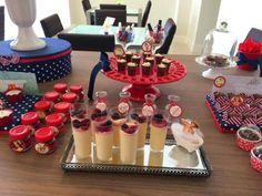 mesa de doces chá de lingerie