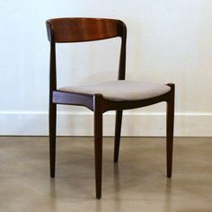 Set of 4 Vintage Teak Dining Chairs | From a unique collection of antique and modern dining room chairs at http://www.1stdibs.com/furniture/seating/dining-room-chairs/