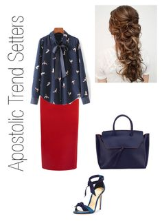"""Outfit #16"" by apostolic-trend-setters ❤ liked on Polyvore featuring Roland Mouret, WithChic, Alexandre Birman and Alexandra de Curtis"