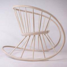流線型的椅子設計