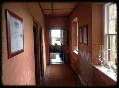 Entrance to the servants quarters of Highfield historic house . Stanley Tasmania