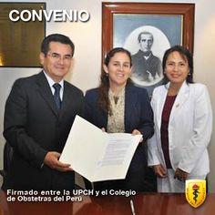 La Dra. #PatriciaGarcía, Decana de nuestra Facultad de Salud Pública y Administración (FASPA) de la UPCH y el Dr. #JoelMotaRivera, Decano del Colegio de Obstetras del Perú, firmaron un convenio marco para el desarrollo de Programas Académicos de Postgrado y la ejecución de diversas investigaciones que ayuden a fortalecer la Salud Pública.