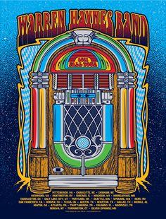 Warren Haynes Band 2011 Fall Tour poster.  http://www.pinterest.com/TheHitman14/music-poster-art-%2B/