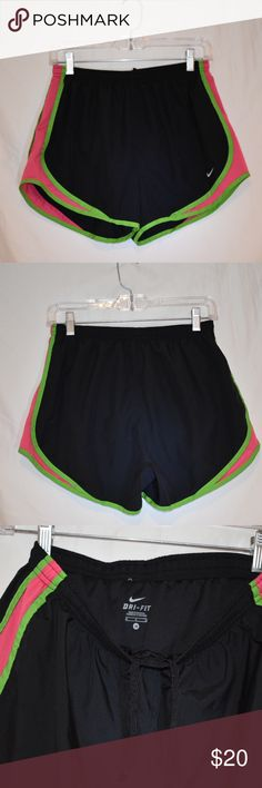 Nike running shorts PRICE DROP TODAY🎊🛍🎉🛒 EUC! Absolutely no flaws. Watermelon colored Nike running shorts. Have built-in liner. Dri-fit material. Nike Shorts
