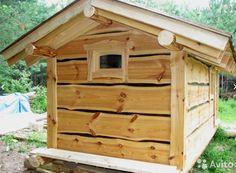 Tiny Log Cabins, Small Log Cabin, Cabin Homes, Log Homes, Saunas, Dry Sauna, Cabin Loft, Sauna Design, Diy Outdoor Bar