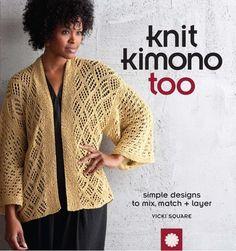 Crochet Poncho Patterns, Crochet Pattern, Stitch Patterns, Knit Crochet, Knitting Patterns, Knitting Ideas, Free Pattern, Kimono Design, Knitting Books