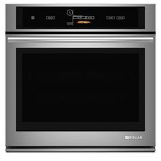 The 30 Single Wall Oven from Jenn-Air will be the best addition to your place. The unit features Vertical Dual-Fan Convection System. and Halogen Interior Lighting. Cleaning Oven Racks, Self Cleaning Ovens, Jenn Air Stove, Stove Installation, Electric Wall Oven, Convection Cooking, Touch Screen Technology, Single Wall Oven, Types Of Doors